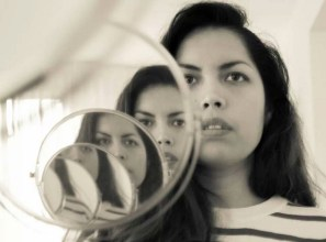 Woman in the Mirror, by Ley