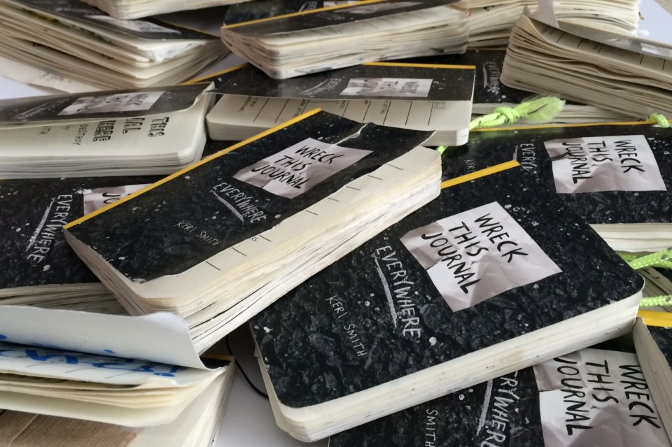 Student-wrecked journals