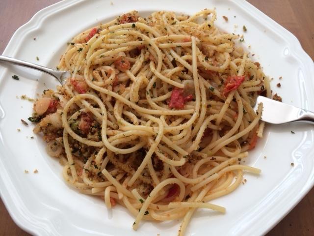 eating sp pasta