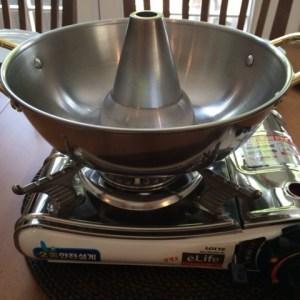 hot pot and burner