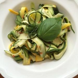 insalata di zucchini