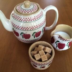 tea milk sugar