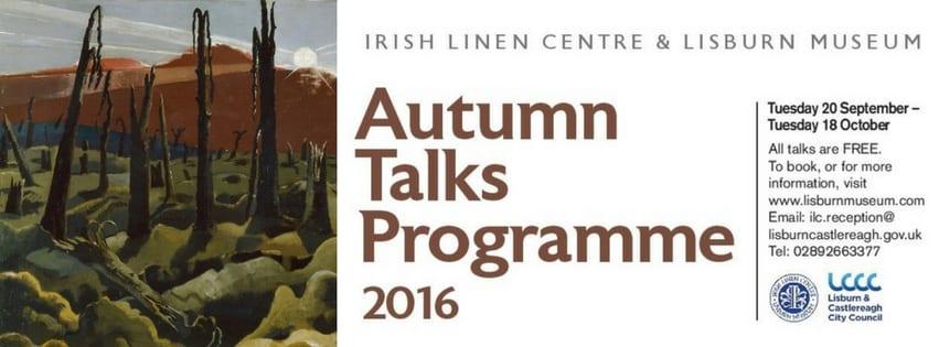 2016 Autumn Events Programme Talks Lisburn Museum