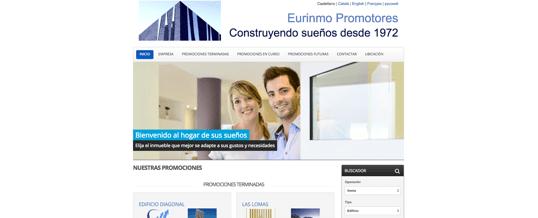 Nueva web para Promotores