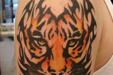 tiger tribal tattoos 3