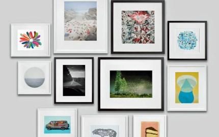photo wall large