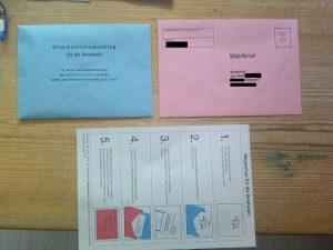 Briefwahl 2009