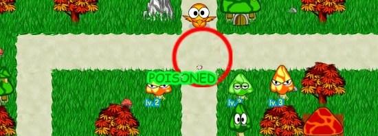 Spielbild aus Mushroom Farm Defender