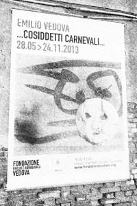 Plakat von der Biennale