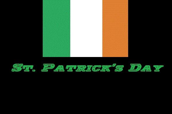 Hier sieht man den St. Patricks Day