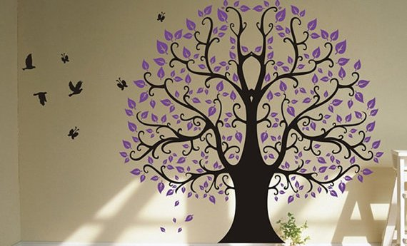 Best Tree Wall Decals - To Make Your Business Gain Attention In A Short Time