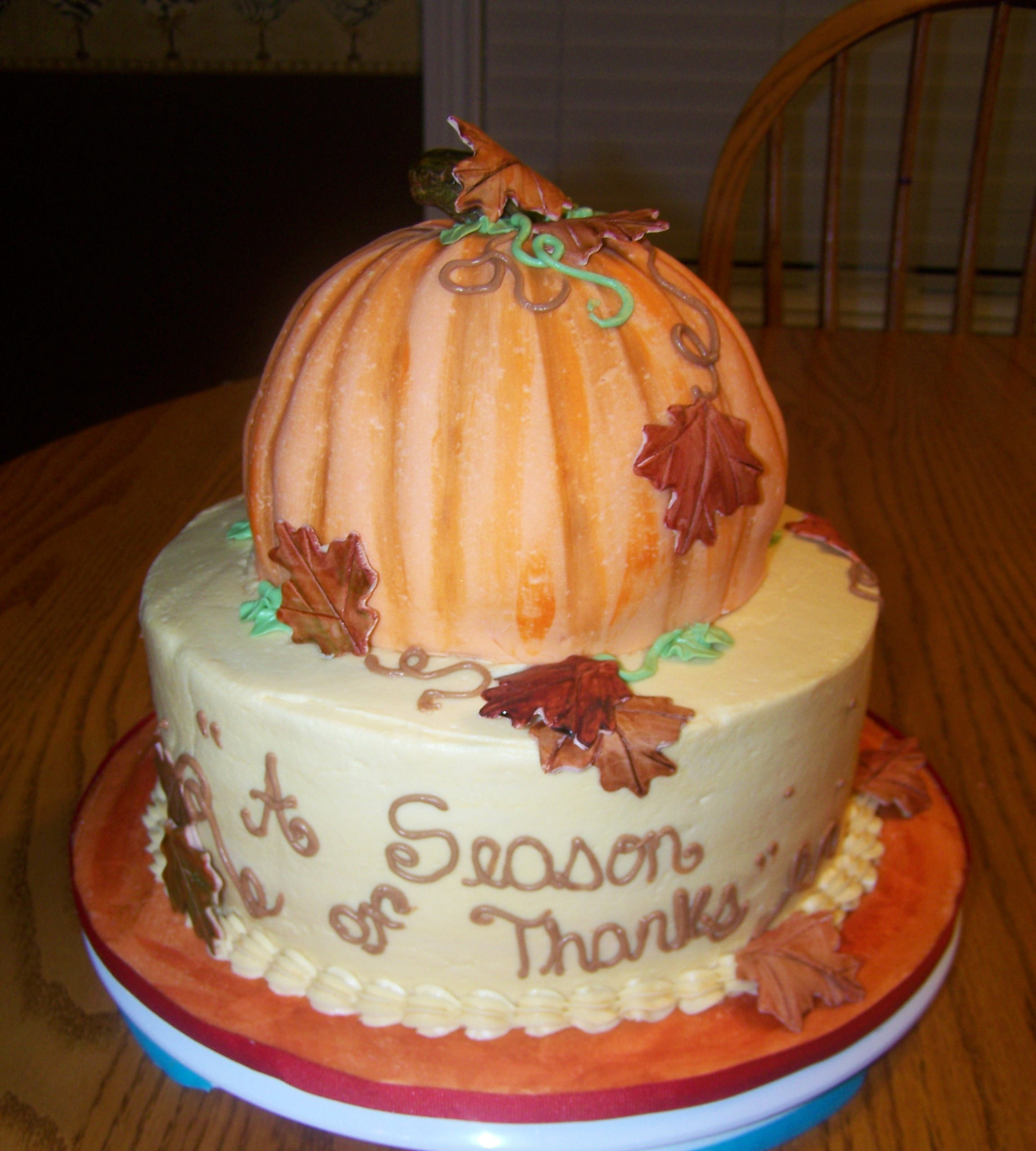 Thanksgiving Cakes     Decoration Ideas   Little Birthday Cakes Thanksgiving Cakes