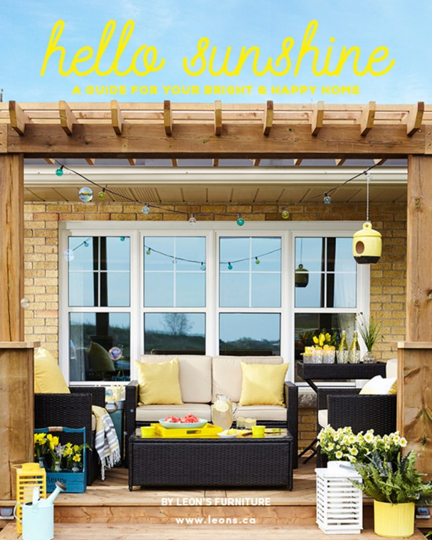 Hello Sunshine: A Guide For Your Bright & Happy Home