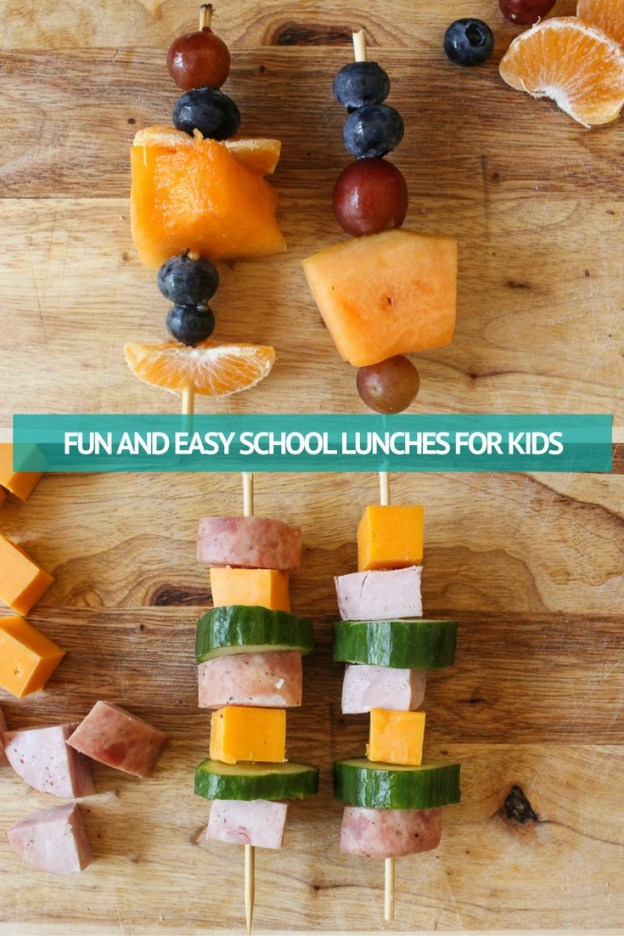 FUN AND EASY SCHOOL LUNCHES FOR KIDS #TakeBackSchoolLunch