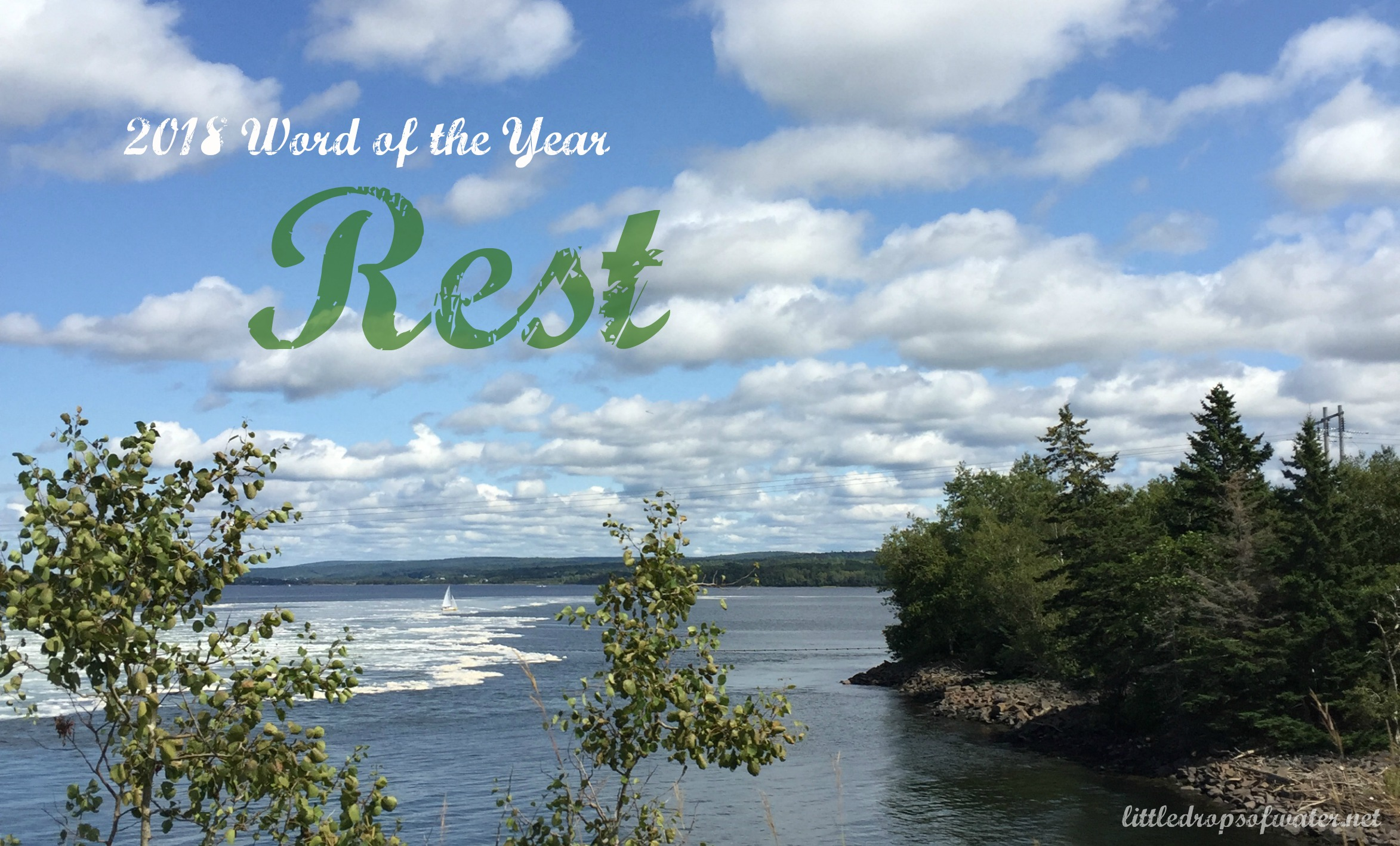 2018 Word of the Year: Rest