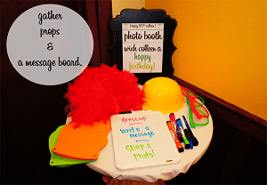 let's fiesta series: DIY photo booth.