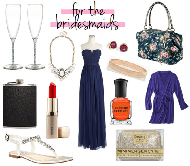 for your bridesmaids // LLinaBC.com