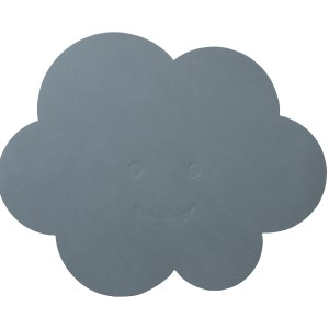 LIND DNA | KIDS CLOUD TABLE MAT, LIGHT BLUE
