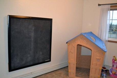 DIY chalkboard done