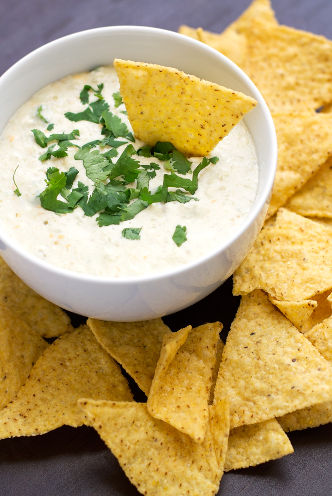 5 Ingredient Slow Cooker Queso Dip