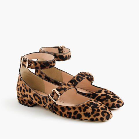 Mama Spree: J.Crew leopard print flats