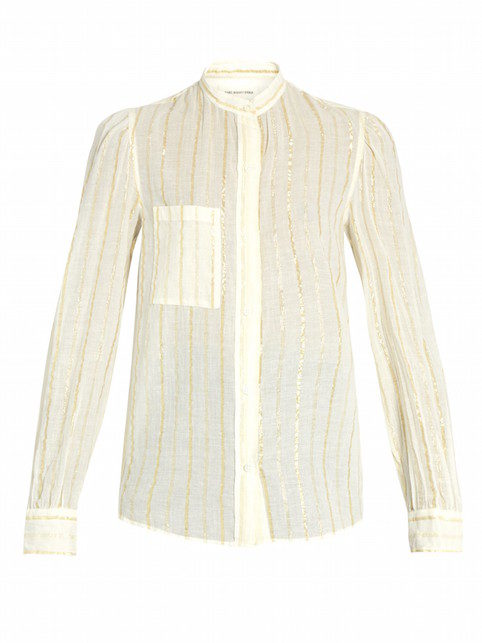 Mama Spree: blouses and denim mini skirts
