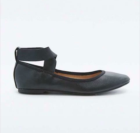 Urban Outfitters elasticated ballet paumos - Little Spree