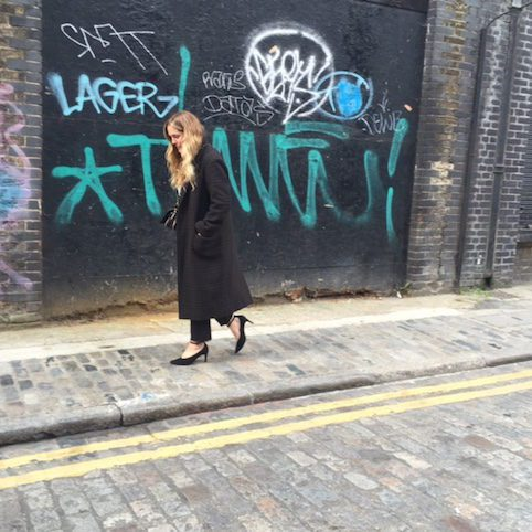 Isabel Marant tweed coat - Little Spree