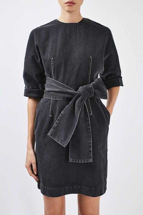 Topshop Boutique Dome Sleeve Dress - LITTLE SPREE