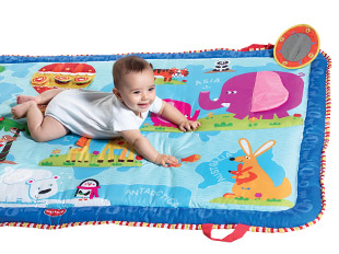 I LOVE our Tiny Love (tinylove.com) Super Mat! Activities in each scene!
