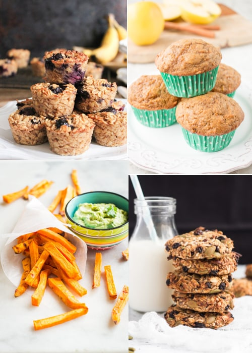healthy image collage