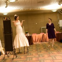 Bride's ready room Photo: Ryan Jackson