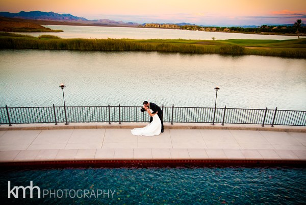 lake las vegas wedding kmh photography