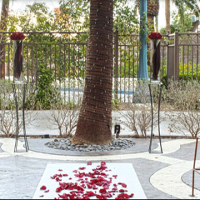 mandalay bay outdoor wedding venue