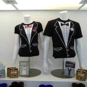 Items for Sale at the Pop Up Wedding Chapel Interior at Cosmopolitan, March 2013. Photo: Kelly / Little Vegas Wedding