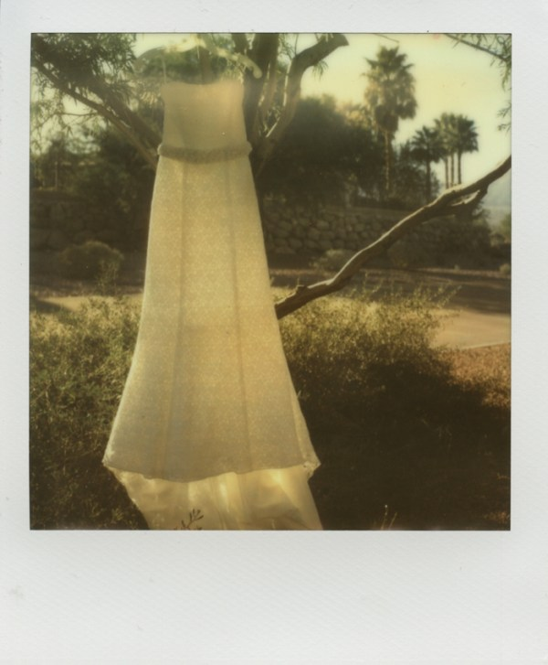 polaroid photography vegas desert