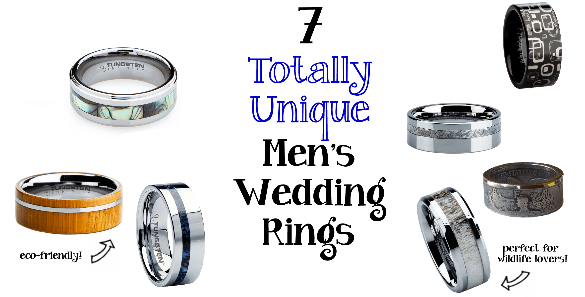 unique mens wedding rings deer wedding bands A few years ago when planning our wedding my husband was picking out his wedding ring and became increasingly frustrated with the state of unusual ring