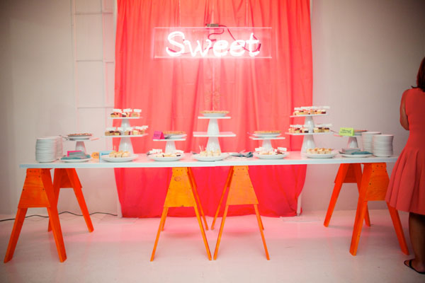 Mod neon wedding by
