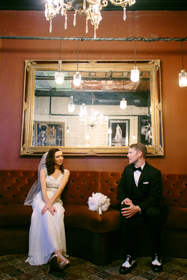 1920s Gatsby Inspired Wedding | Little Vegas Wedding