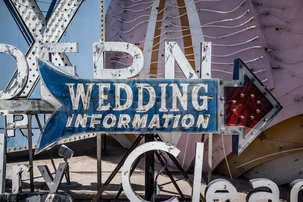 Neon Museum Weddings | Little Vegas Wedding
