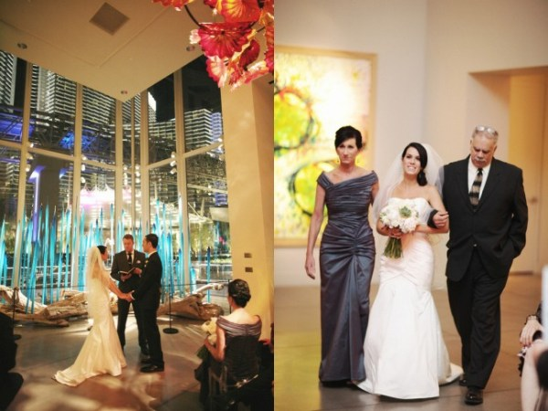 Chihuly Gallery and Aria Suite Wedding | Little Vegas Wedding | Sergio Mottola Photography