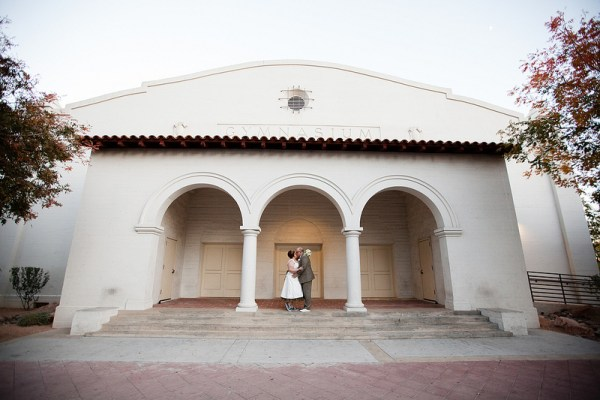 Funky 5th Street School Wedding | Little Vegas Wedding