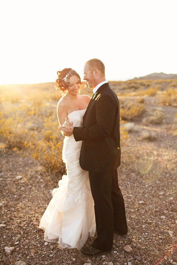 Rustic Desert Wedding Reception | Little Vegas Wedding
