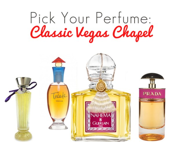 Perfumes for a Vegas Chapel Wedding | Little Vegas Wedding