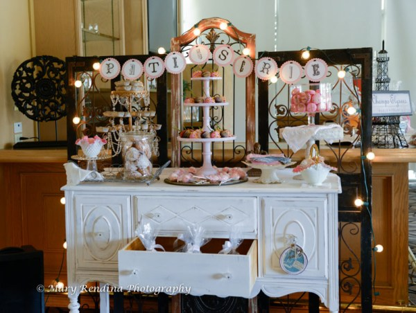 Paris Inspired Bridal Shower | Little Vegas Wedding