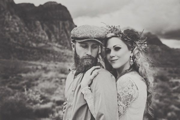 Desert Wedding Inspiration | Little Vegas Wedding
