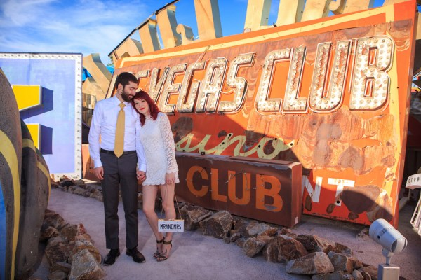 Neon Museum Wedding   Little Vegas Wedding