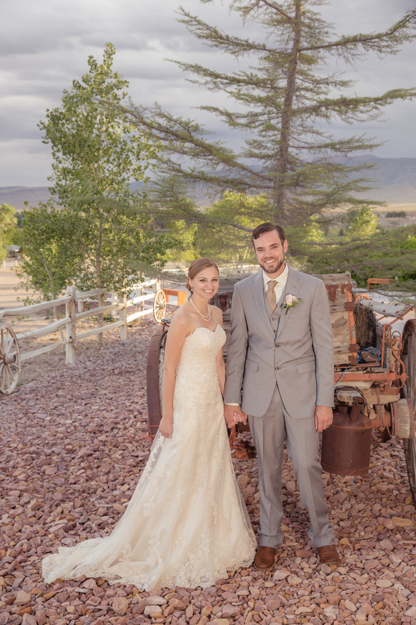 Vintage Western Wedding | Little Vegas Wedding