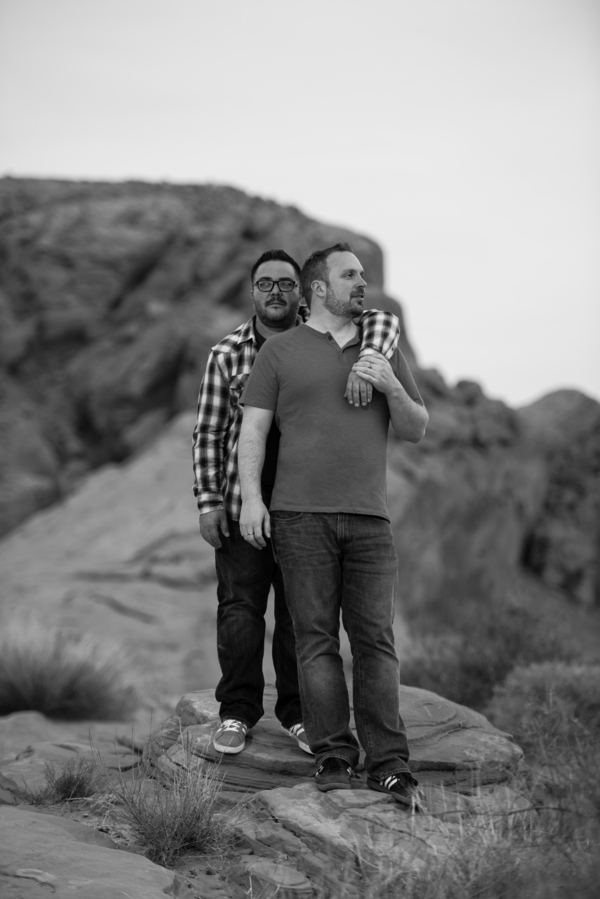Vegas Engagement | Little Vegas Wedding