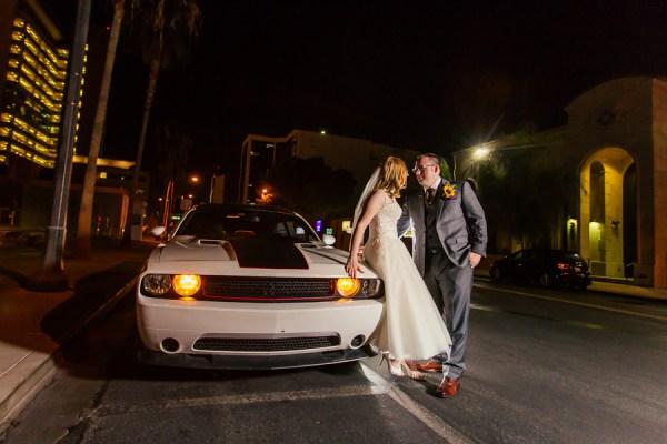 Retro Reception at The Peppermill | Little Vegas Wedding